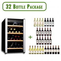 WINE x FRIDGE Promotion - 32 bottle package