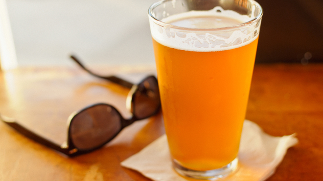Perfect summer beer